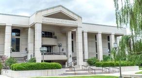 Hooggerechtshof van Nevada Courthouse Royalty-vrije Stock Afbeeldingen