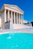 Hooggerechtshof Verenigde Staten in Washington royalty-vrije stock afbeelding