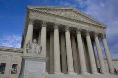 Hooggerechtshof in Washington, D.C. Stock Fotografie