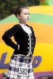Hooglandspelen Schotland stock fotografie