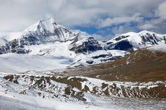 Hooglandvallei in Himalayagebergte Stock Afbeelding
