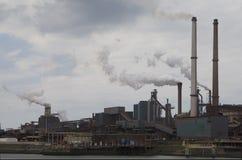 Hoogovens steel factory. In IJmuiden-Velsen, Netherlands Stock Photo