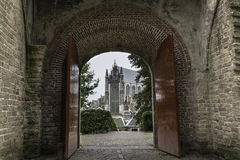 Hoogslandse Kerk, Leiden Royalty Free Stock Image