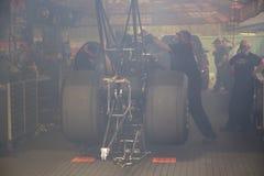 Hoogste brandstof dragster royalty-vrije stock foto's