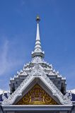 Hoogste deel van Thaise stijlarchitectuur Stock Foto