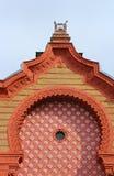 Hoogste deel van vroegere synagoge, Uzhhorod, de Oekraïne royalty-vrije stock afbeeldingen