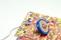 Hoogste en gaily gekleurd document. Stock Foto