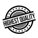 Hoogste kwaliteits rubberzegel Stock Fotografie