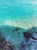 Hoogste mening over de Middellandse Zee op een mooie zonnige middag Stock Afbeeldingen