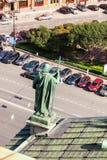 Hoogste mening over de Stad van het observatiedek Stock Foto