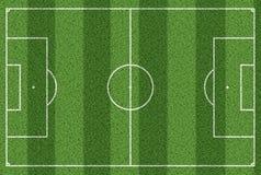 Hoogste mening van de achtergrond van het voetbalgebied Stock Afbeeldingen