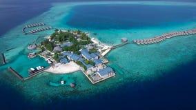 Hoogste mening van de Maldiven stock videobeelden