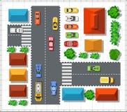 Hoogste mening van de stad vector illustratie