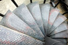 Hoogste Mening van Diamond Stair stock foto