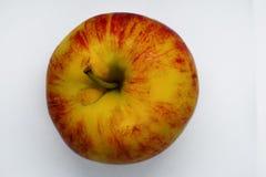 Hoogste mening van gele en rode appel Royalty-vrije Stock Fotografie