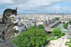 Hoogste-mening van Parijs royalty-vrije stock fotografie
