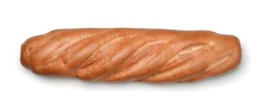 Hoogste mening van vers broodbrood royalty-vrije stock fotografie