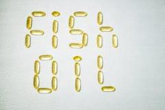Hoogste mening van Vistraancapsules op witte achtergrond Omega 3 Vitamine E Supplementvoedsel voor het goede leven stock fotografie