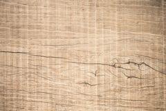 Hoogste menings bruin hout die met barst, Oude grunge donkere geweven houten achtergrond, de oppervlakte met panelen bekleden van stock afbeelding