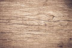 Hoogste menings bruin hout met barst, Oude grunge donkere geweven houten achtergrond, de oppervlakte van de oude bruine houten te royalty-vrije stock fotografie