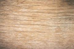 Hoogste menings bruin hout met barst, Oude grunge donkere geweven houten achtergrond, de oppervlakte van de oude bruine houten te stock foto