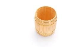 Hoogste menings houten vat Royalty-vrije Stock Foto's