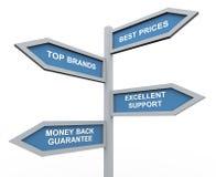 Hoogste merkenSpeciale aanbieding Stock Fotografie