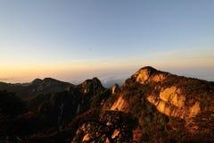 Hoogste piek van Guniujiang Stock Afbeeldingen