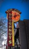 Hoogste Pottendoughnuts Seattle Royalty-vrije Stock Afbeeldingen