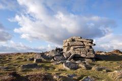Hoogste Tor Dartmoor Royalty-vrije Stock Afbeelding
