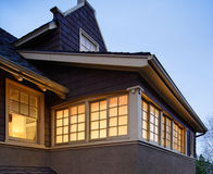 Hoogste Vloeren van een Huis Stock Afbeelding