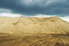 Hoogste zand Stock Fotografie