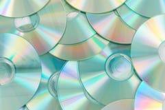 Hoogtepunt met cd's Stock Afbeelding