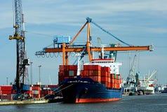 Hoogtepunt van containers Stock Afbeeldingen