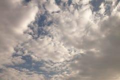Hoogtepunt van wolken stock afbeeldingen