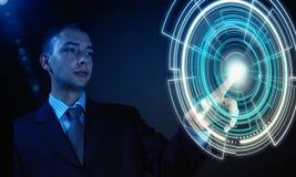 Hoogwaardige technologieën Stock Afbeelding
