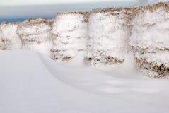 Hooi en sneeuw Royalty-vrije Stock Afbeeldingen