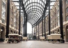 Hooi ` s Galleria Londen 01 royalty-vrije stock afbeelding