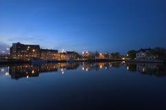 Hooikade harbor Royalty Free Stock Photo