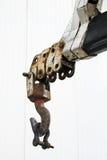 Hook. Construction crane hook Royalty Free Stock Images