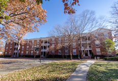 Hook, Brannock and Barney Halls at Elon University Royalty Free Stock Image