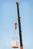 Hook cargo crane Royalty Free Stock Images