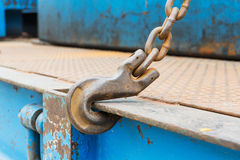 Hook and chain Royalty Free Stock Photos