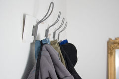 Hook for clothes Royalty Free Stock Image
