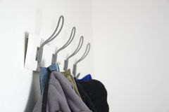 Hook for clothes Royalty Free Stock Images