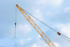 Hook crane- metal construction Stock Photography