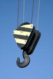 Hook on a crane Stock Photos