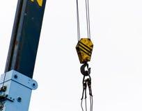 Hook crane Royalty Free Stock Photo