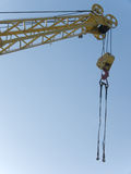 Hook  elevating   crane Royalty Free Stock Photos