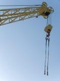 Hook  elevating   crane Royalty Free Stock Photos